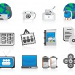 Set of computer icons — Stock Vector