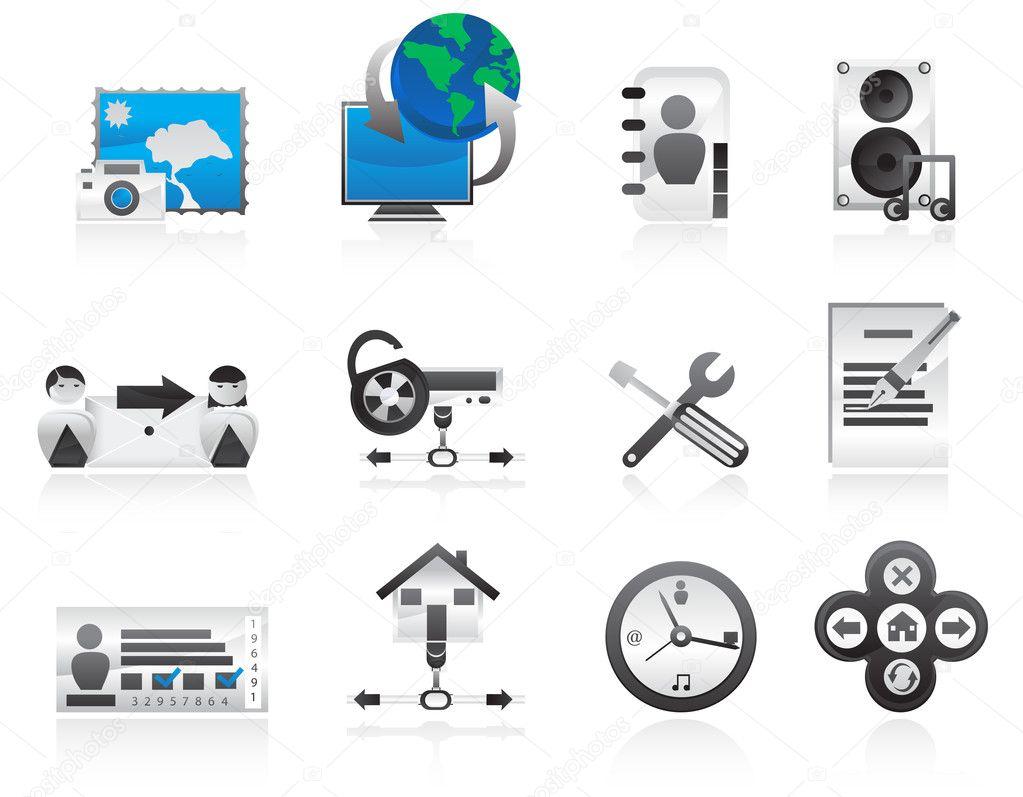 计算机图标集— 矢量图片作者