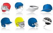 Sport hats — Stock Vector
