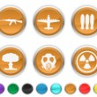 War icons — Stock Vector #5839952
