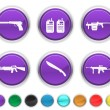 War icons — Stock Vector #5839959