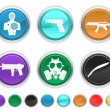 War icons — Stock Vector #5839975