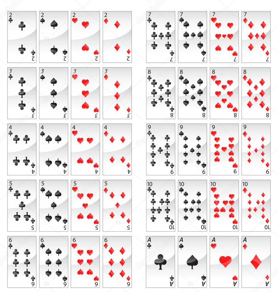 17 und 4 kartenwerte