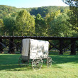 Carriage at Harpers Ferry — Stock Photo