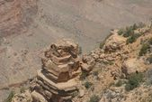 Wandern am grand canyon — Stockfoto