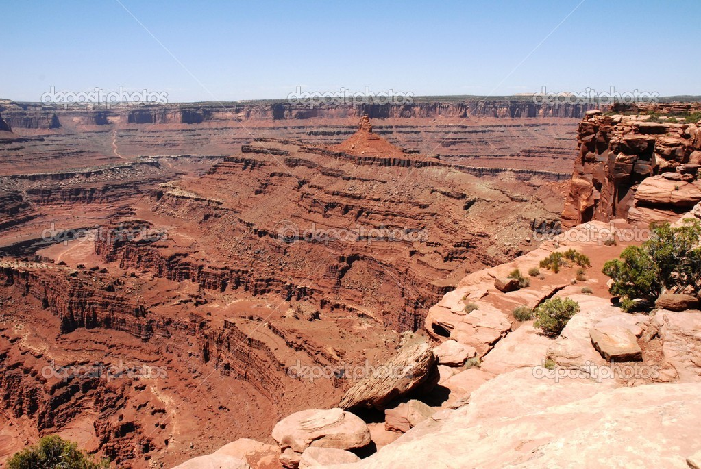Dead Horse Point in Utah                                  — Stock Photo #5476062