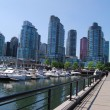 Stock Photo: Downtown Vancouver