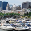 Stock Photo: Montreal waterfont in Canada