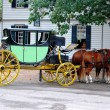 Stock Photo: Horse Carriage in Virginia, MD USA
