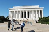 Washington DC Lincoln Monument — Stock Photo