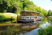 Boat at Great Falls, Maryland USA — Stock Photo