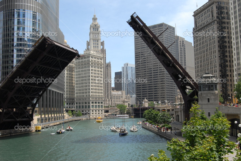 Downtown Chicago, Illinois — Stock Photo #6376076