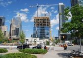 High Rise Building Construction in Toronto — Stock Photo