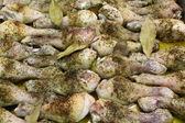 Muslos de pollo — Zdjęcie stockowe