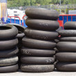 Motorcycle Tyres - Foto Stock