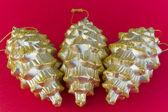 Christmas Pineapples — Stock Photo