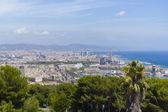 Cidade de barcelona, espanha — Fotografia Stock
