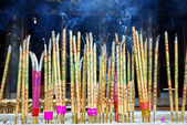 Incense in a Buddhist temple.jpg — Stock Photo
