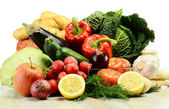 Raw vegetables — Stock Photo