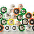 Alkaline batteries — Stock Photo