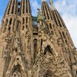 Stock Photo: Facade SagradFamiliBarcelonSpain