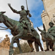 Don Quixote and Sancho Panza — Stock Photo #6107659