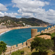 Tower Tossa de Mar, Spain — Stock Photo