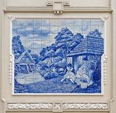Typical Portugal Ceramics — Stock Photo