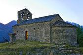 Romanesque church of Sant Quirc de Durro, Catalonia, Spain — Stock Photo