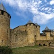 Stock Photo: Carcassonne, France, UNESCO. Castle