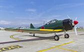 The Mitsubishi A6M Zero WWII — Stock Photo