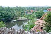 Belo templo tailandês — Foto Stock