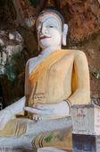 Große schöne buddha in höhlentempel — Stockfoto