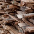 Royalty-Free Stock Photo: Lot of cut wood