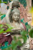 Thai woman statue — Stock Photo
