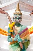 Thai art giant statue — Stock Photo