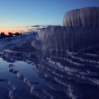 Pamukkale in the evening — Stock Photo