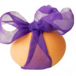 Royalty-Free Stock Photo: Easter egg withribon