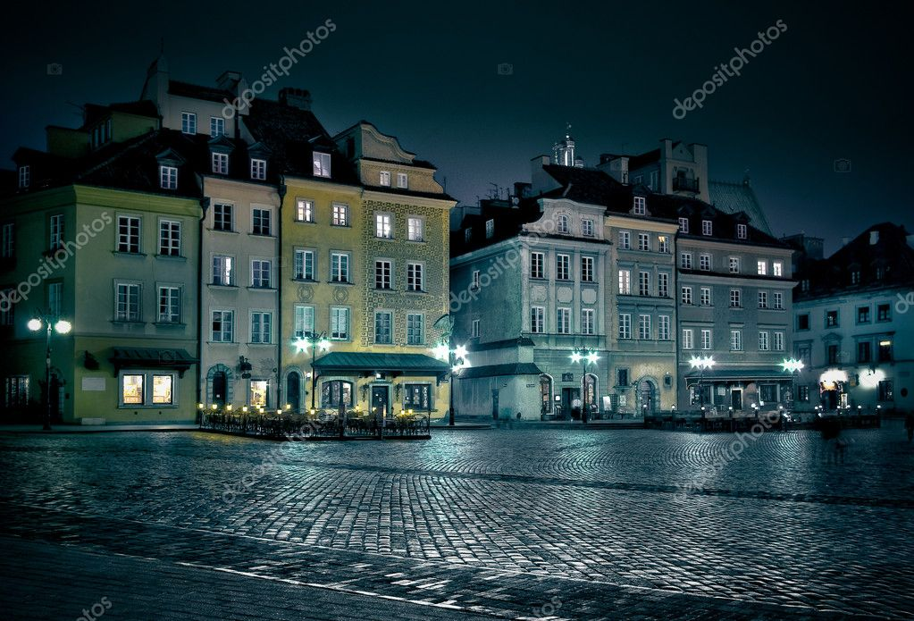 Warsaw old town — Stock Photo #5446688