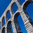 Stock Photo: Aqueduct of Segovia