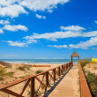 Royalty-Free Stock Photo: Cortadura\'s Beach - Cadiz