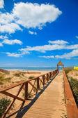 Cortadura's Beach - Cadiz — Stock Photo