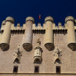 Fortress of Segovia — Stock Photo