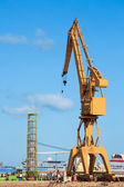 Crane of the dockyards — Stock Photo