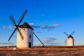 Mulini a vento — Foto Stock