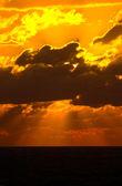 Coucher de soleil — Photo