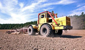 Tractor at work — Stock Photo