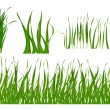 Grass set — Stock Vector #5481396