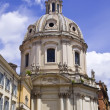 Santissimo Nome di Maria Rome church — Stock Photo