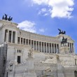 Monument of Victor Emmanuel II — Stock Photo #5500679